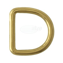 D-Ring 4,7x25x23mm (Messing)